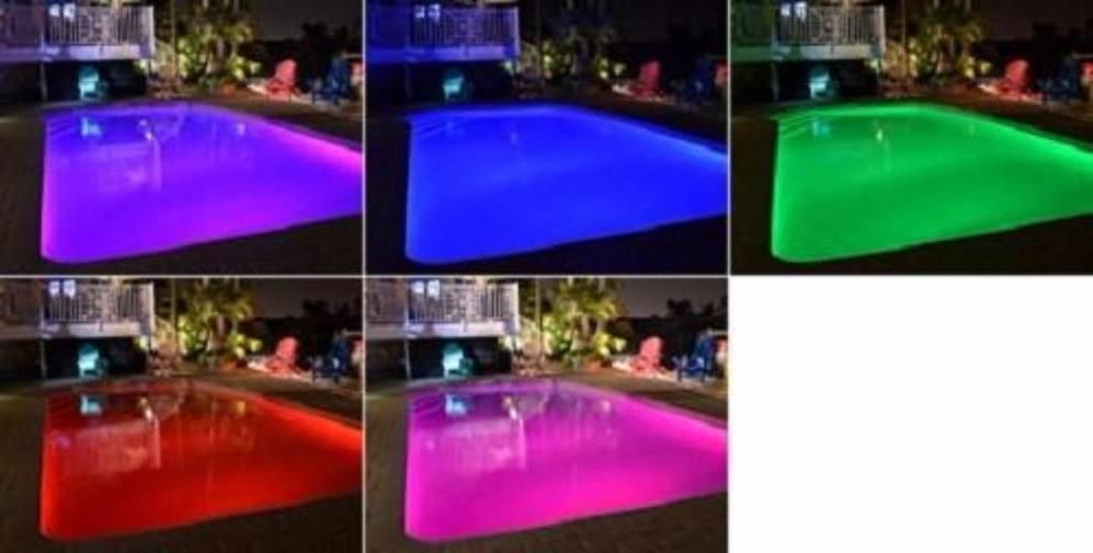 Pool Tone 16 Color Led Bulb 12v For Sta Rite Swimquip In 2020 Spa Lighting Underwater Lights