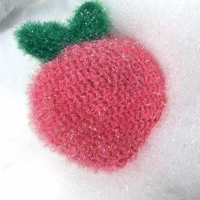 Rico Design Creative Bubble Yummy Lustige Spülschwämme Häkeln