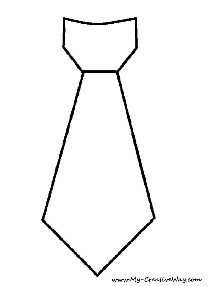 DIY Valentine's Day Tie Shirt. Tie Template Included