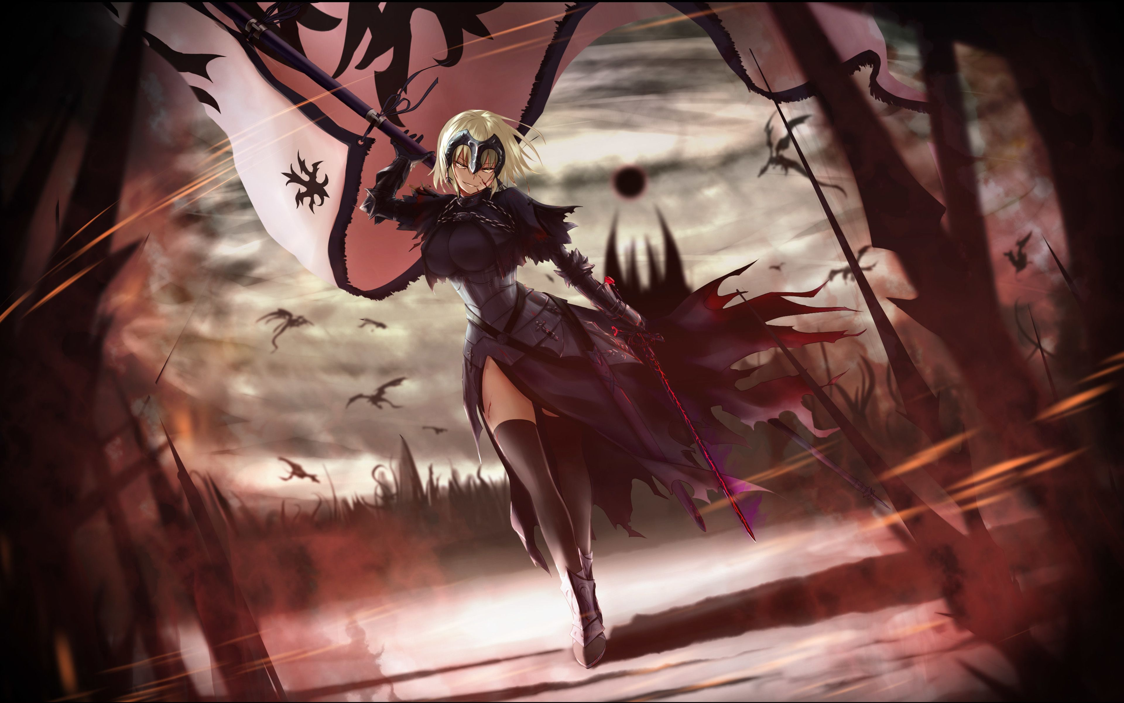 Download Wallpapers Ruler 4k Manga Fate Grand Order Fate
