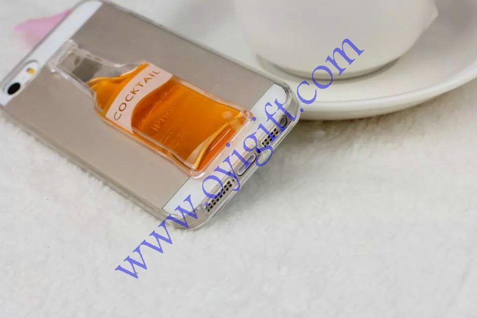 Bottle design TPU phone case covers