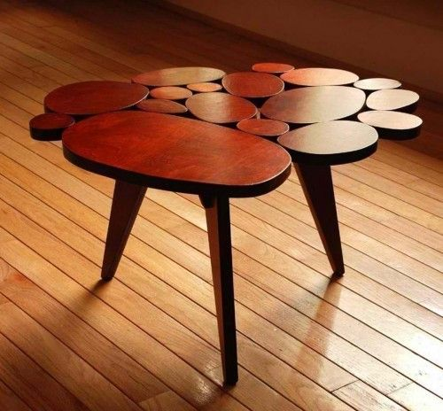wood coffee table design unique modern wood circle coffee table design