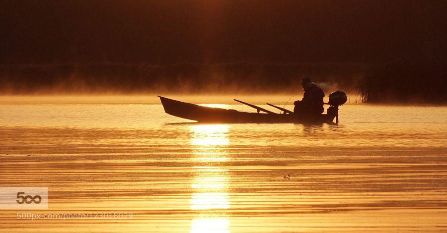 на рыбалку. - Pinned by Mak Khalaf ........... Nature осеньсветсолнцеутро by yact-viktor