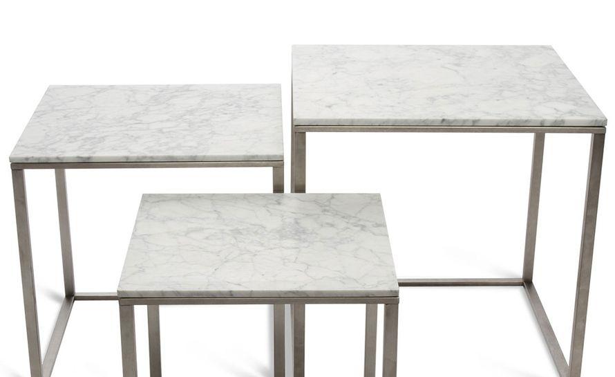 minimalista nesting tables