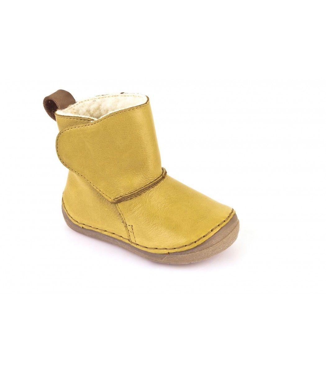 1b3f40e9219f Froddo zimné čižmy Yellow