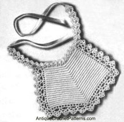 Crochet baby bibs, Baby bibs patterns, Bib pattern