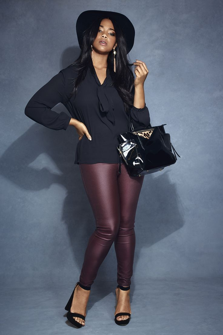 1d4bc765d80 5 ways to wear leather pants without looking frumpy   Style please ...