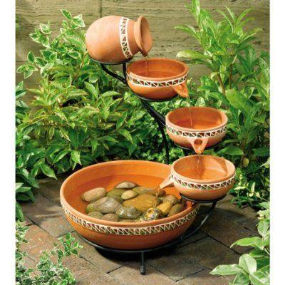 decorar con fuentes de agua 5 - Fuentes De Agua Decorativas