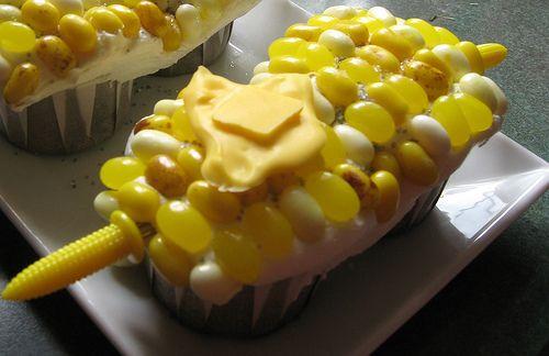 Corn on Cob Cupcake