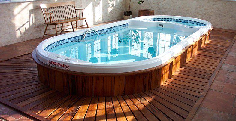 Aquafit Play Spa The Perfect Mini Pool D1 Spas Indoor Swim Spa Hot Tub Swim Spa Swim Spa