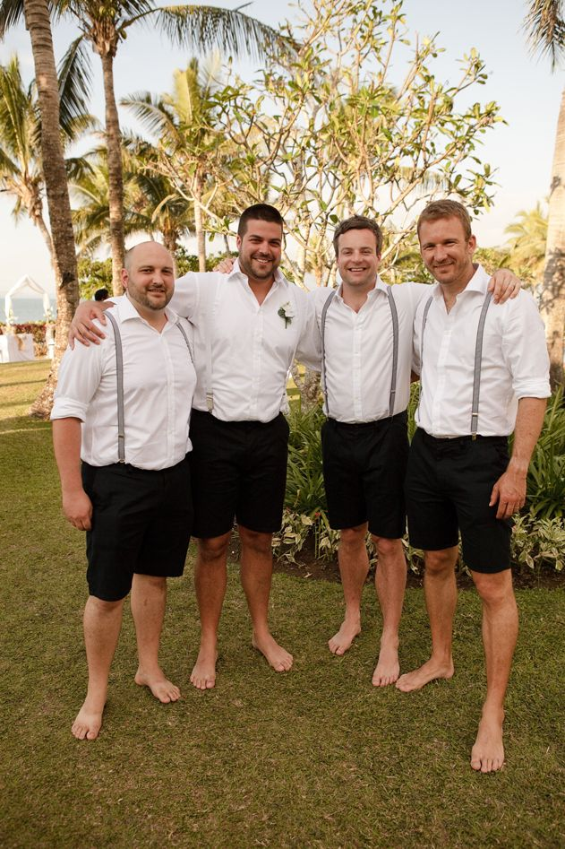 SPG Restaurants & Bars Competition Groomsmen attire