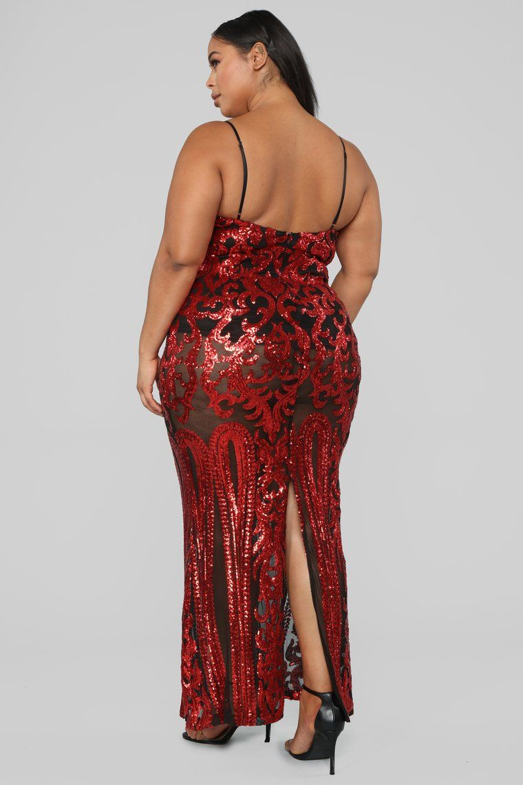 Guest Of Honor Sequin Dress Red (With images) Red