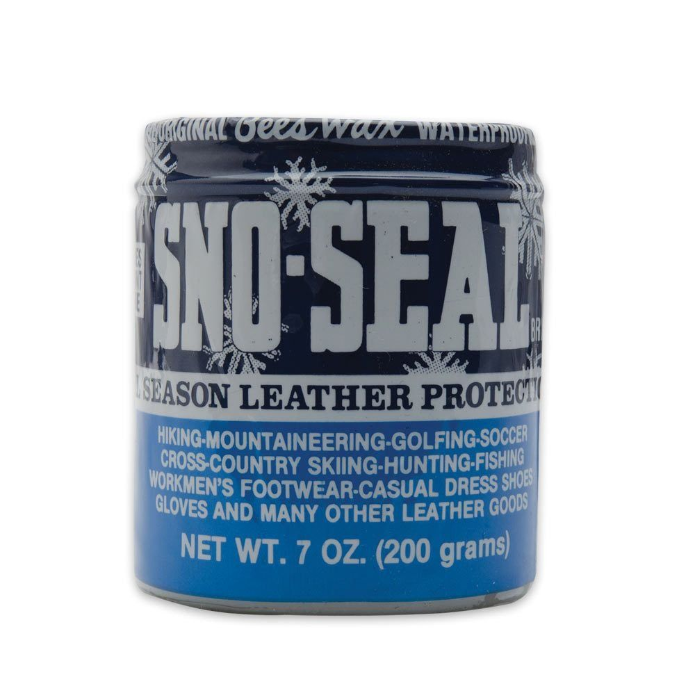 4e993994f304 Sno-Seal Leather Protector All Season 7 Oz to waterproof you leather shoes  no drying. Backpacking ...
