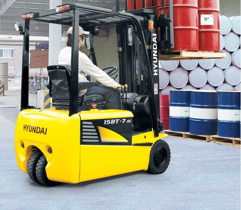 Almost every warehouse or factory needs a forklift in its