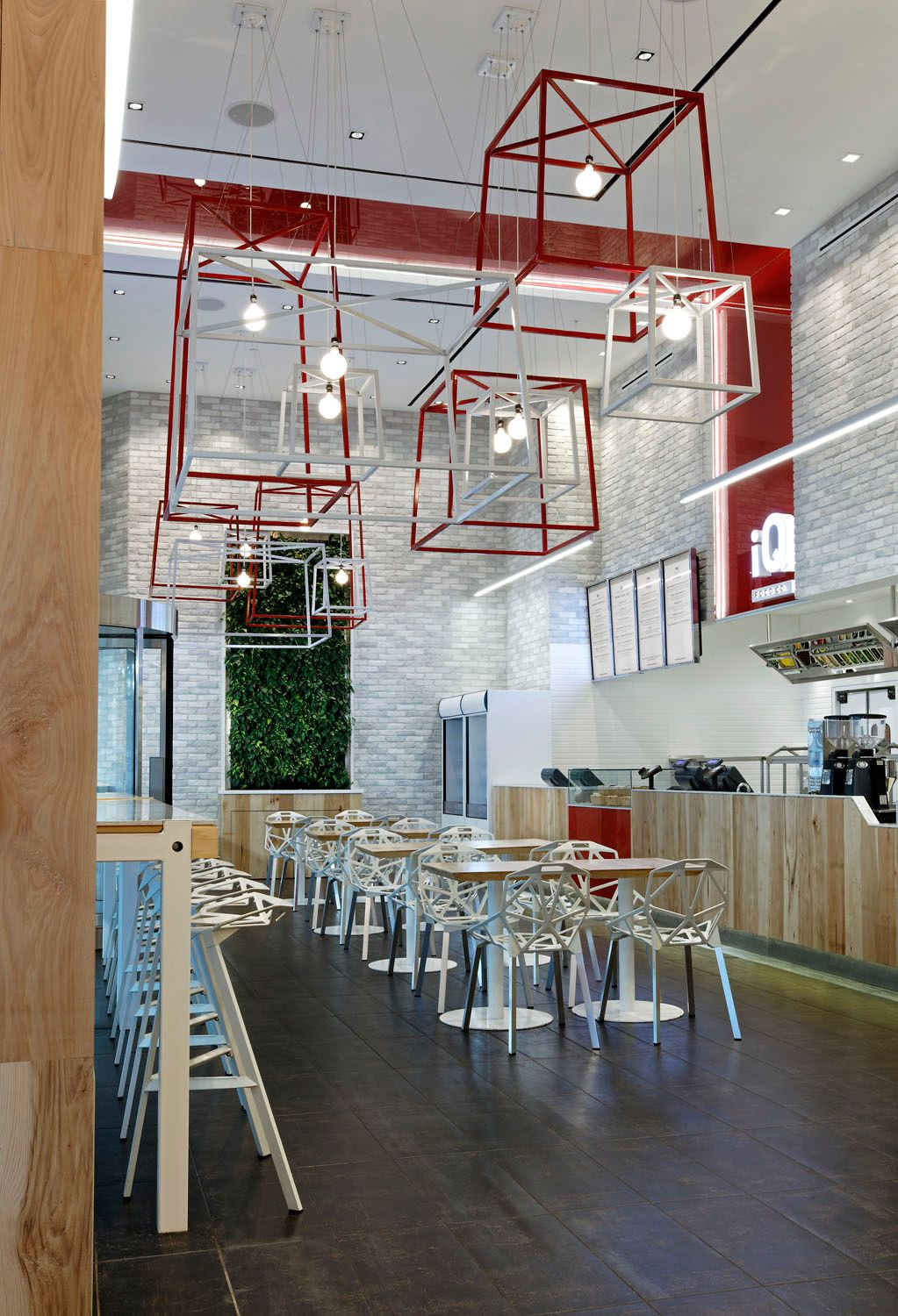 Mobilier Cafe Restaurant Iq Food Co Ii By Iv Design Design Bar Mobilier De Salon