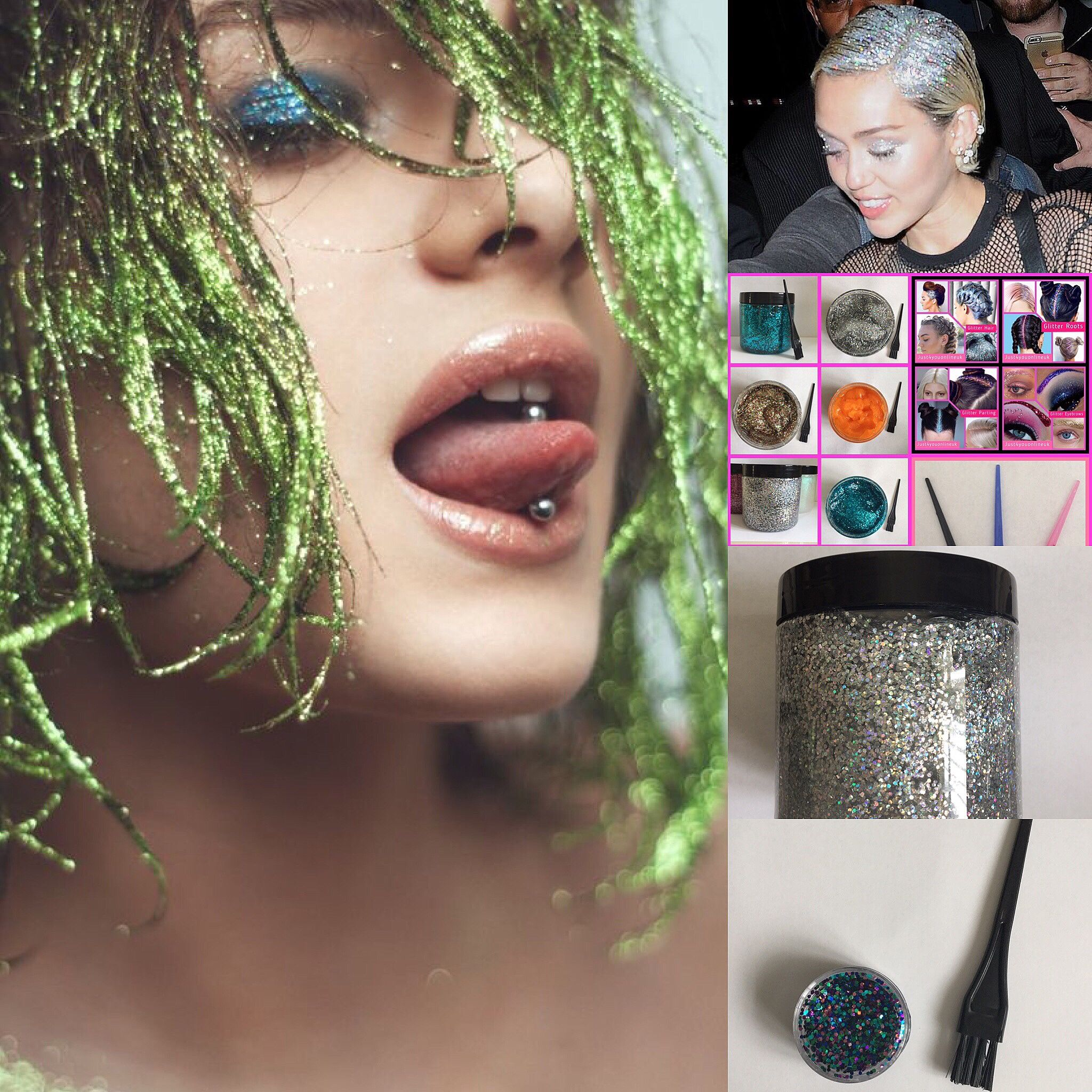 Epoxy Resin UK Unique Resin Art Supplies Glitter hair