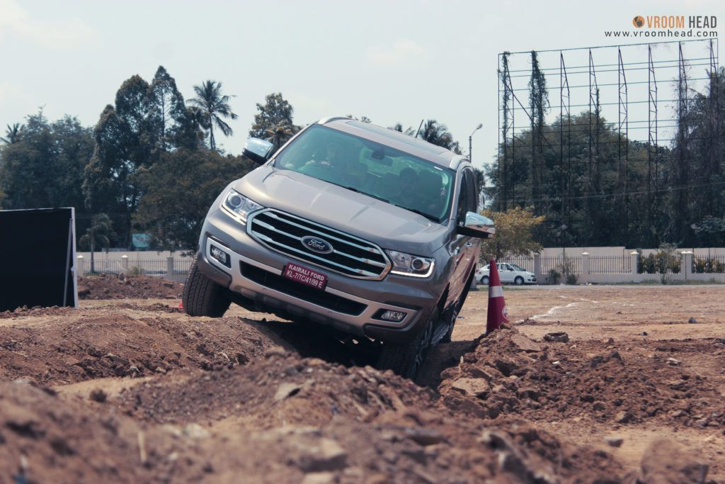 Ford Endeavour Off Road, Ford Endeavour price In India