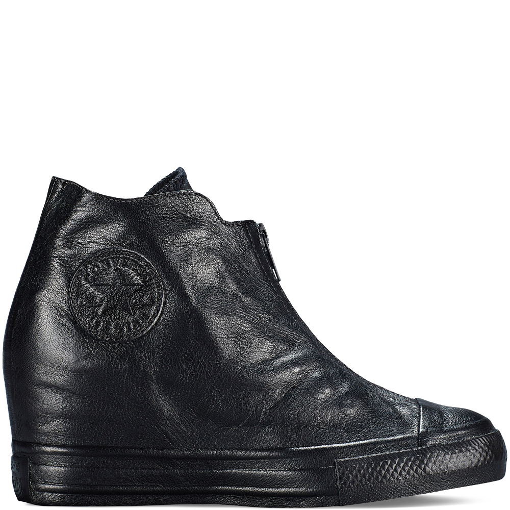 Converse Chuck Taylor All Star Lux Wedge Shroud Black