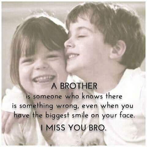 Miss U Brother Brother Quotes Funny Sibling Quotes Brother Sister Relationship Quotes