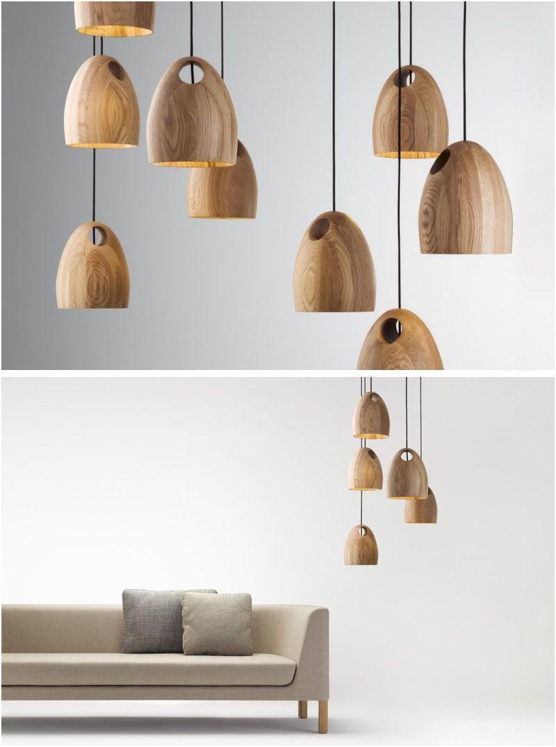 11 Limitée Suspension Bois Design Photos Lampu