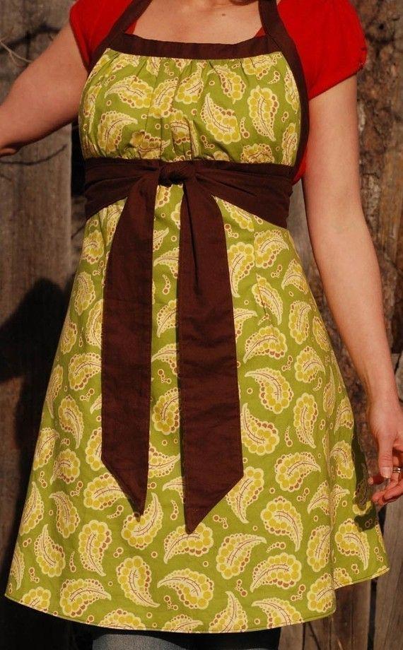 Emmeline Apron PDF Sewing Pattern | Apron, Sewing patterns and Patterns