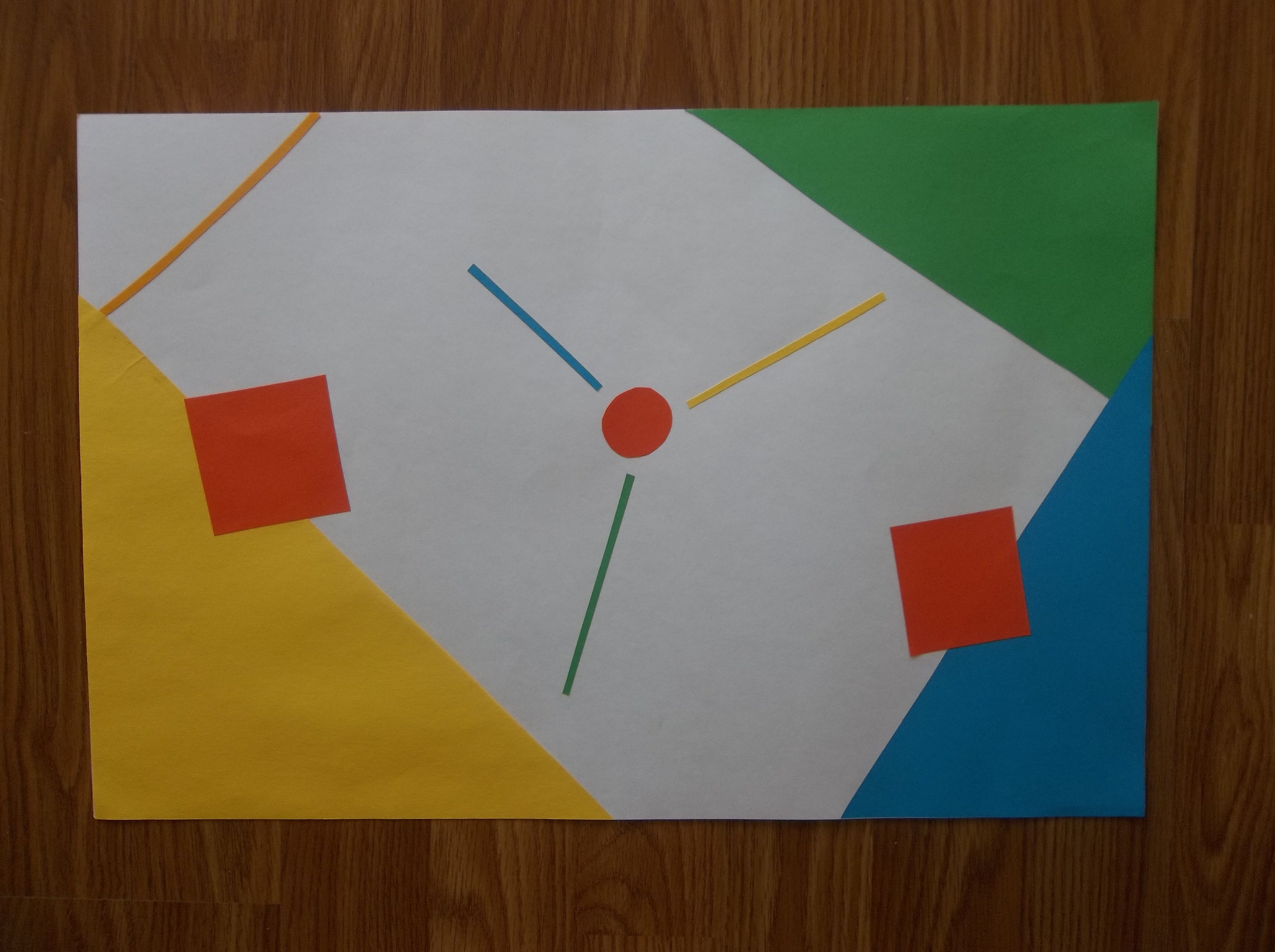Shapes In Space Created September 4 Asymmetrical