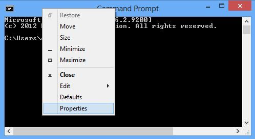 How To Enable Copy Paste In Cmd Command Prompt Also Known As Cmd