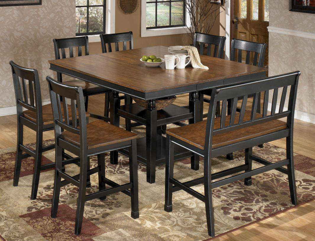 Best 8 Person Dining Table Counter Height Dining Room Tables Square Kitchen Tables Dining Table