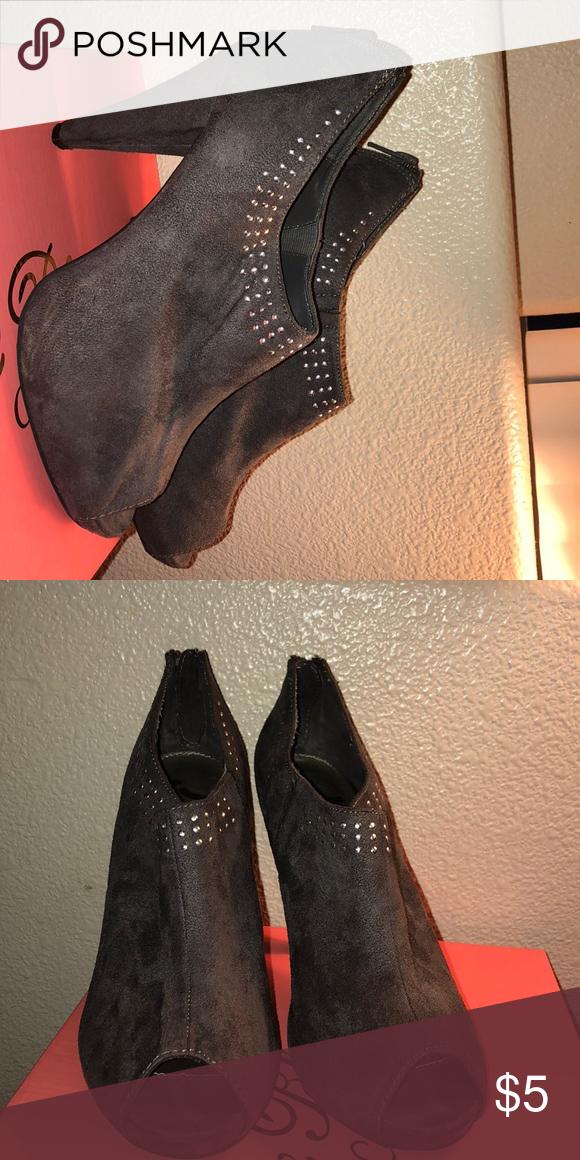 d753ead5d63 Heel booties! Super cute heel booties. Perfect for Fall/Winter ...