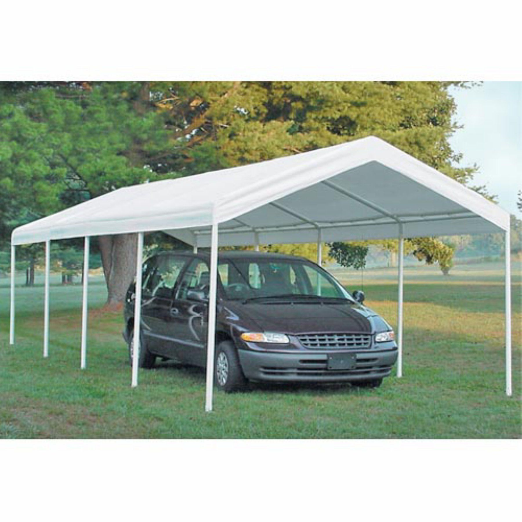 ShelterLogic 12 x 26 ft. Commercial Grade Canopy 25770