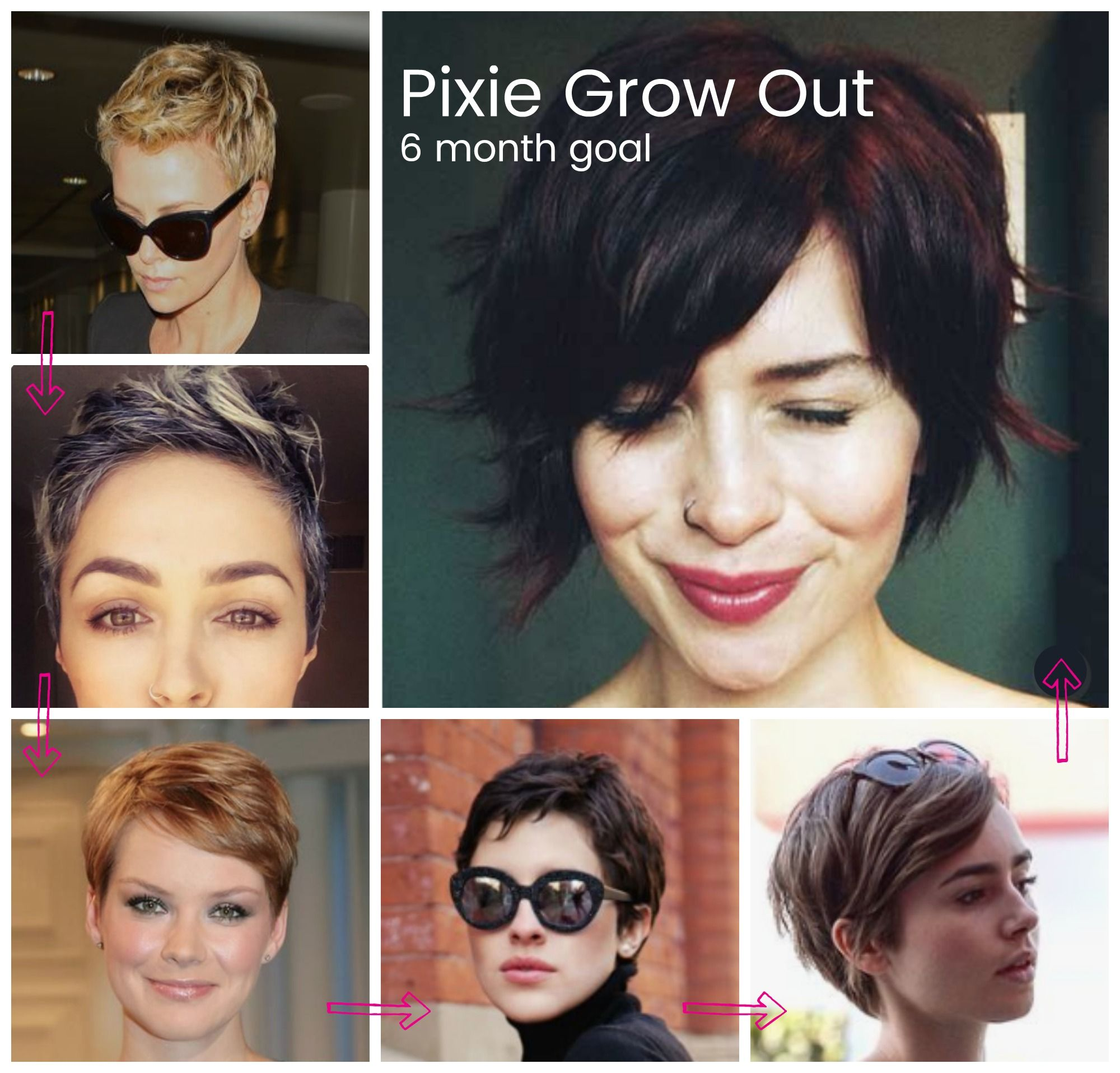Grow Out Pixie How To Grow Out A Pixie Pixie Grow Out Pixie Grow Out Goals Growing Out Hair Growing Out Short Hair Styles Cute Hairstyles For Short Hair