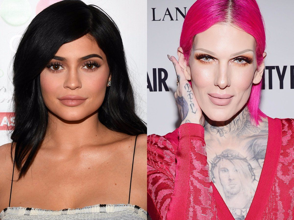 jeffree star reportedly accused kylie cosmetics of using the same
