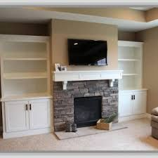 built in bookcases beside fireplace - Google Search ...