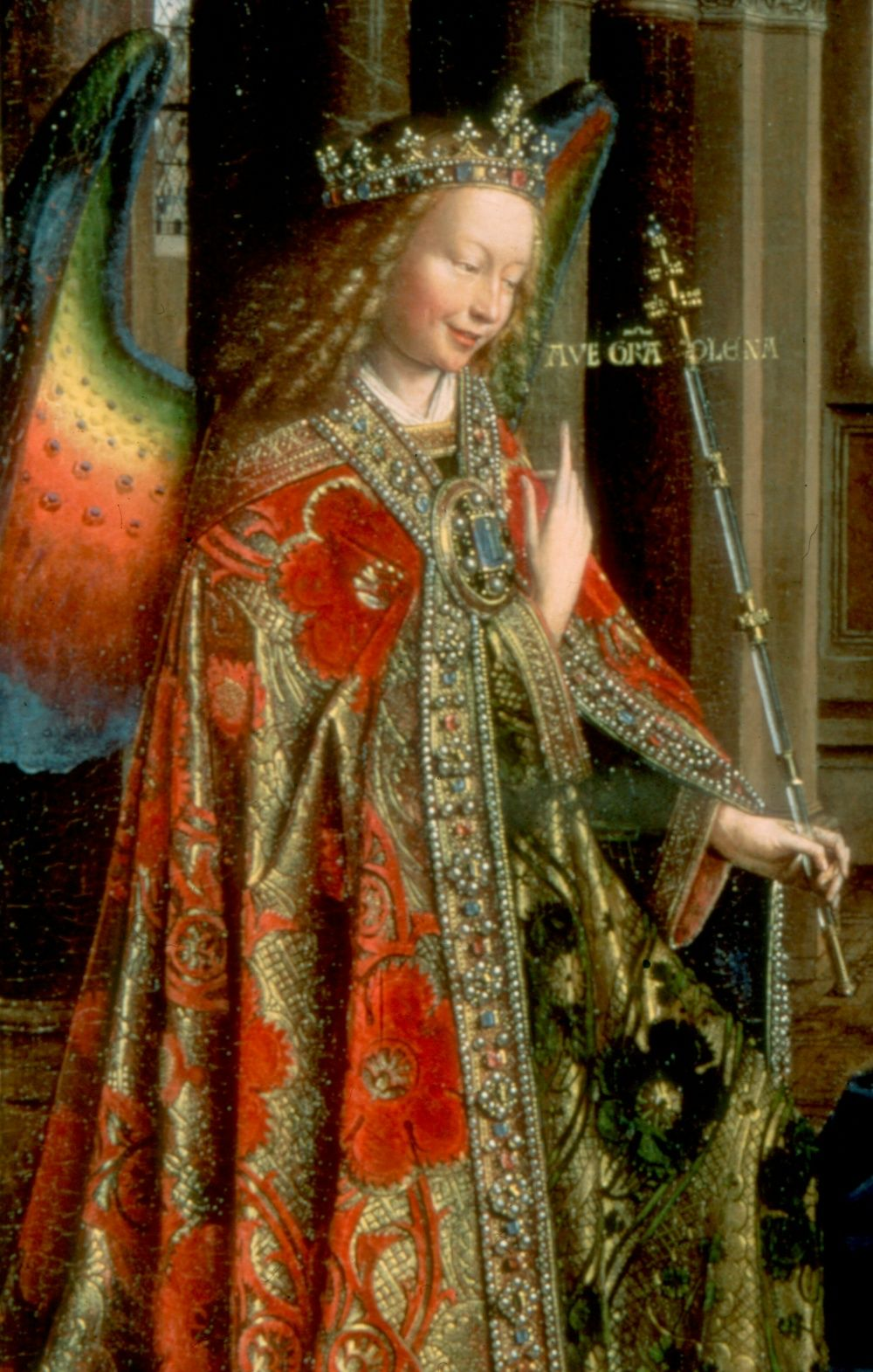 jan van eyck annunciation angel angel pinterest ��