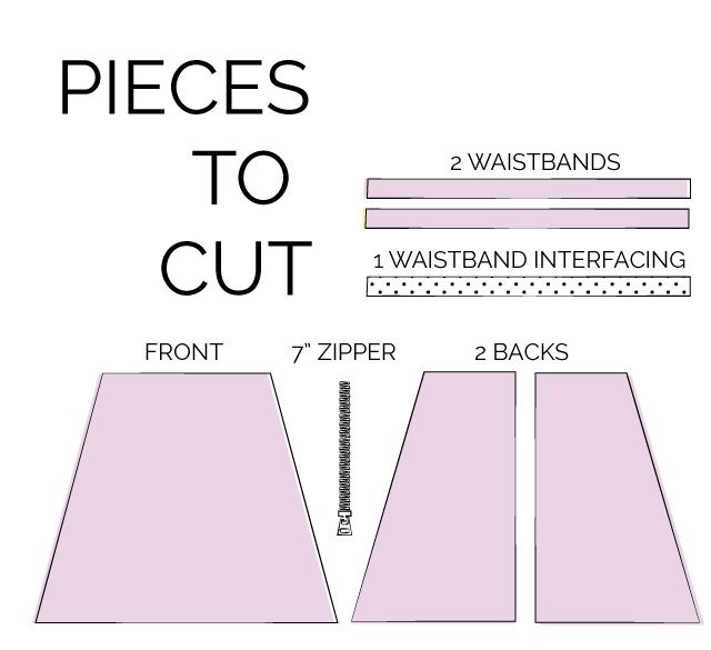 Zippers A Free Simple Skirt Pattern Skirt Patterns Sewing