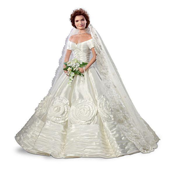 Jacqueline Kennedy Commemorative Bride Doll Bride Dolls Doll Dress Barbie Bride