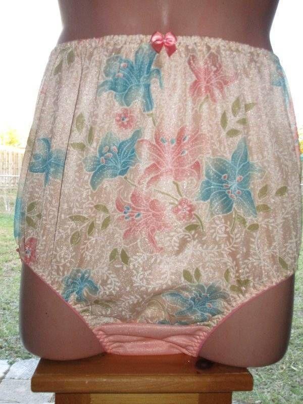 431cf0ec1 Classic Handmade Vintage Style Full Cut Brief Nylon Tricot Panties 38in.   MadeByMarysnaughtyandnice