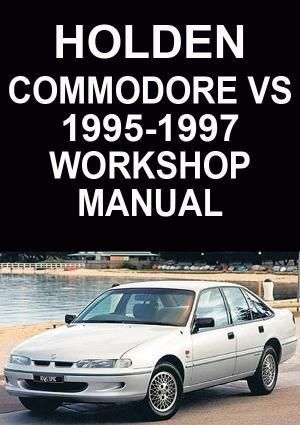 holden commodore vs 1995 1997 workshop manual rh pinterest com Holden Commodore VP Holden vs Caprice