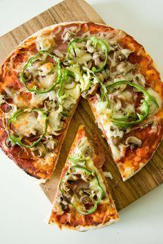 Resep Pizza Sederhana : resep, pizza, sederhana, Pizza, Italia, Rumahan, Sederhana, Tanpa, Namun, Tetap, Makanan, Italia,, Buatan, Sendiri,, Resep