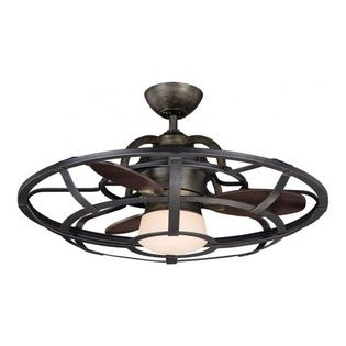 Savoy Alsace Fan D Lier 26 Rustic French Inspired Ceiling