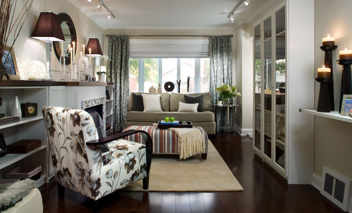 Candice Olson - great small space | Small room design ...