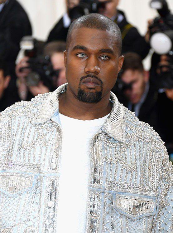 1e5bd28456d Kanye West Go Fug Yourself. We Cant Stop Staring at Kanyes New Blue Eyes