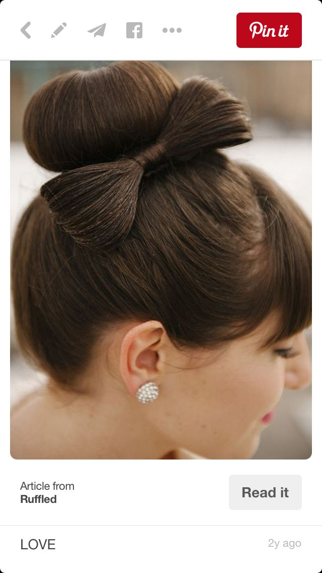 I like this hair style for my wedding day.