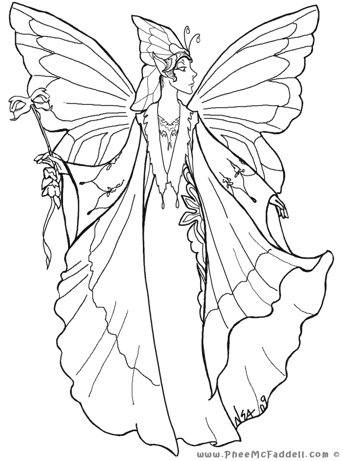 Court Fairy 1 www.pheemcfaddell.com | Embroidery | Pinterest
