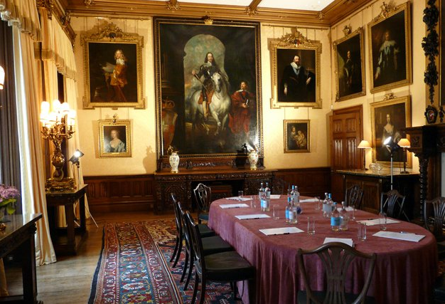 The Dining Room From Highclere Castle's Website As It Is Today Fascinating Highclere Castle Dining Room Inspiration