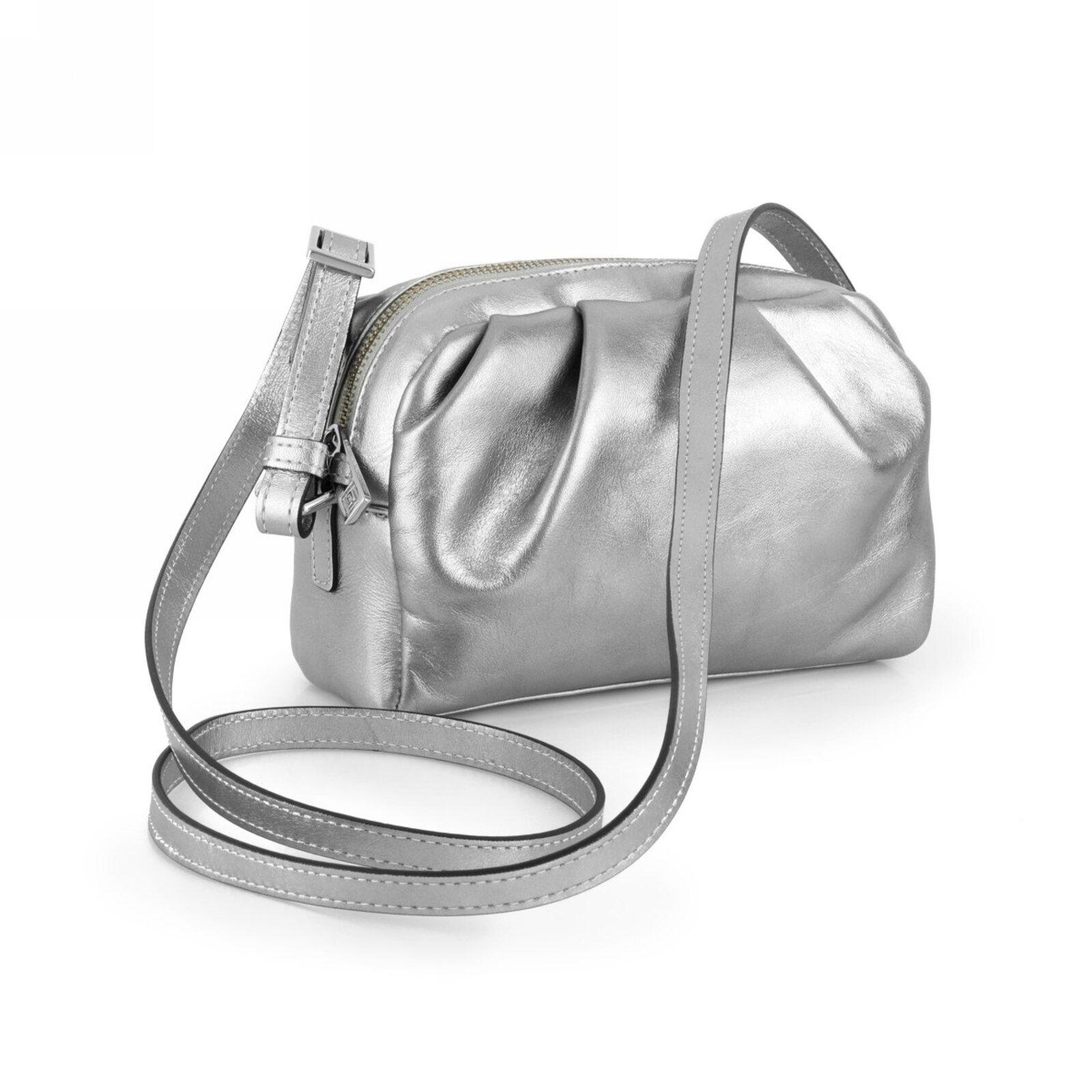 Bolsa Pequena 6422 – Laminati Argento Luz Da Lua