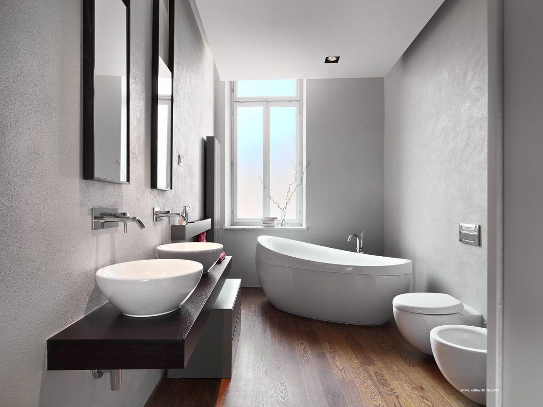 Bagno senza piastrelle piastrelle bagno molto sottili piastrelle