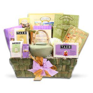 Tazo Tea & Cookies Gift Basket $56
