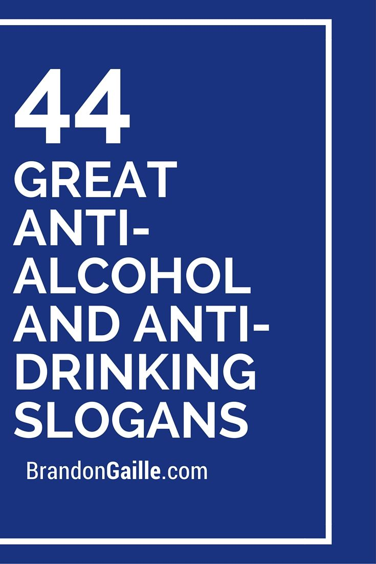 Anti alcohol taglines for dating 6