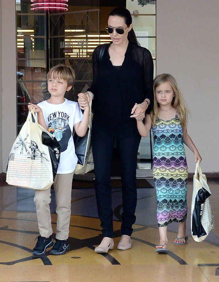 Knox et Vivienne Jolie-Pitt : les photos des jumeaux Knox ...